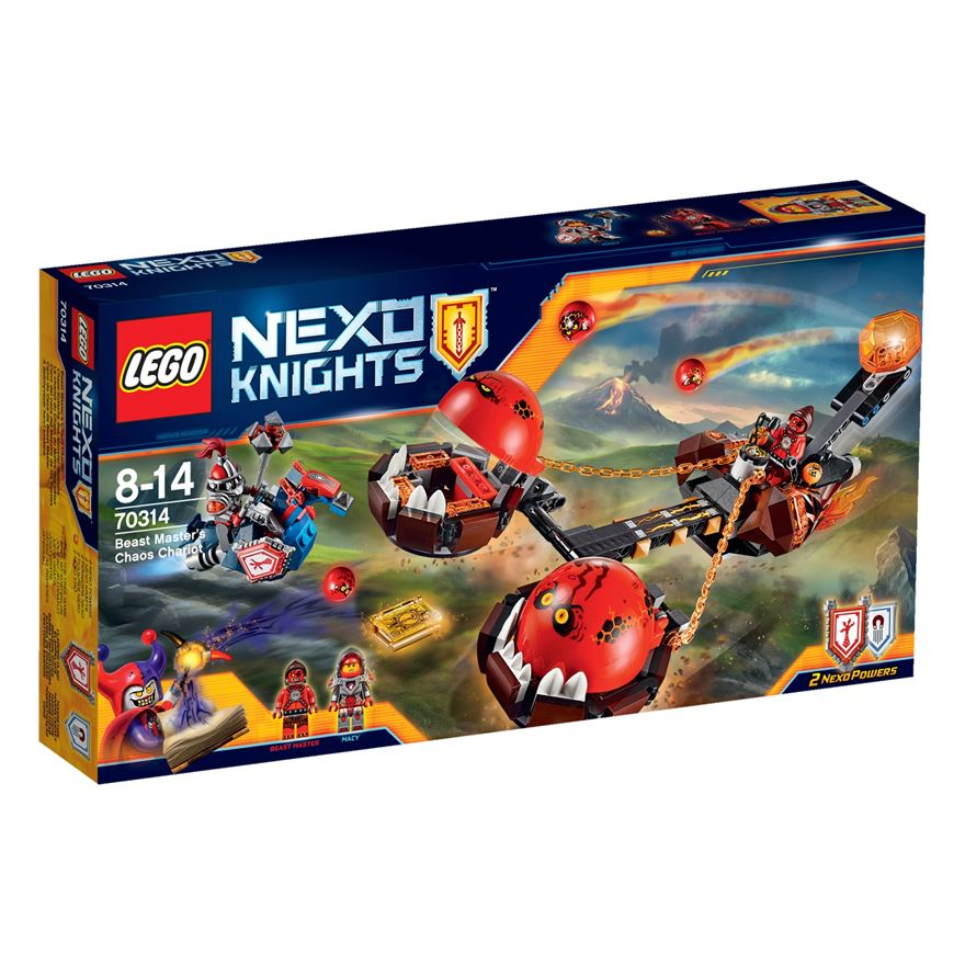 LEGO Nexo Knights Beast Master's Chaos Chariot 70314 image-0