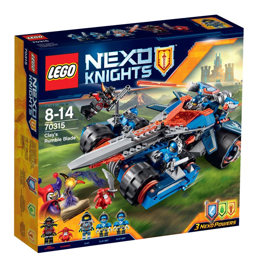 LEGO Nexo Knights Clay's Rumble Blade 70315 image-0