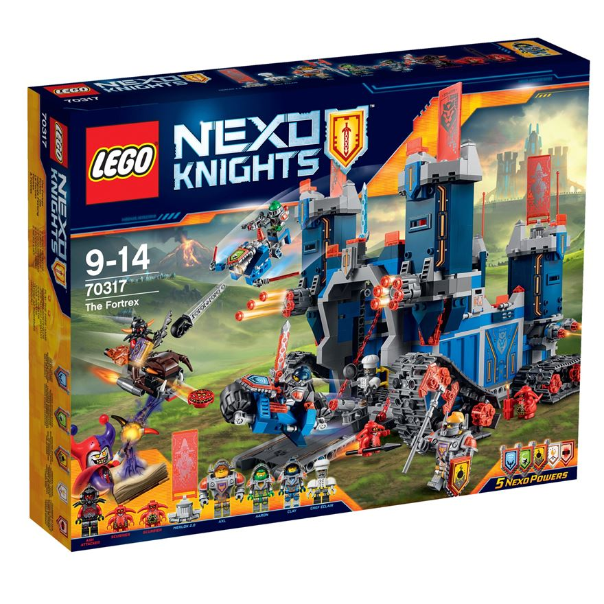 LEGO Nexo Knights The Fortrex 70317 image-0