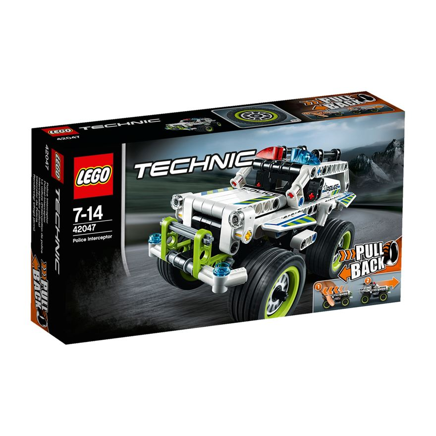 LEGO Technic Police Interceptor 42047 image-0