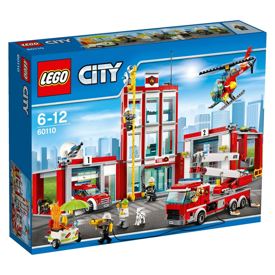 LEGO City Fire Station 60110 image-0