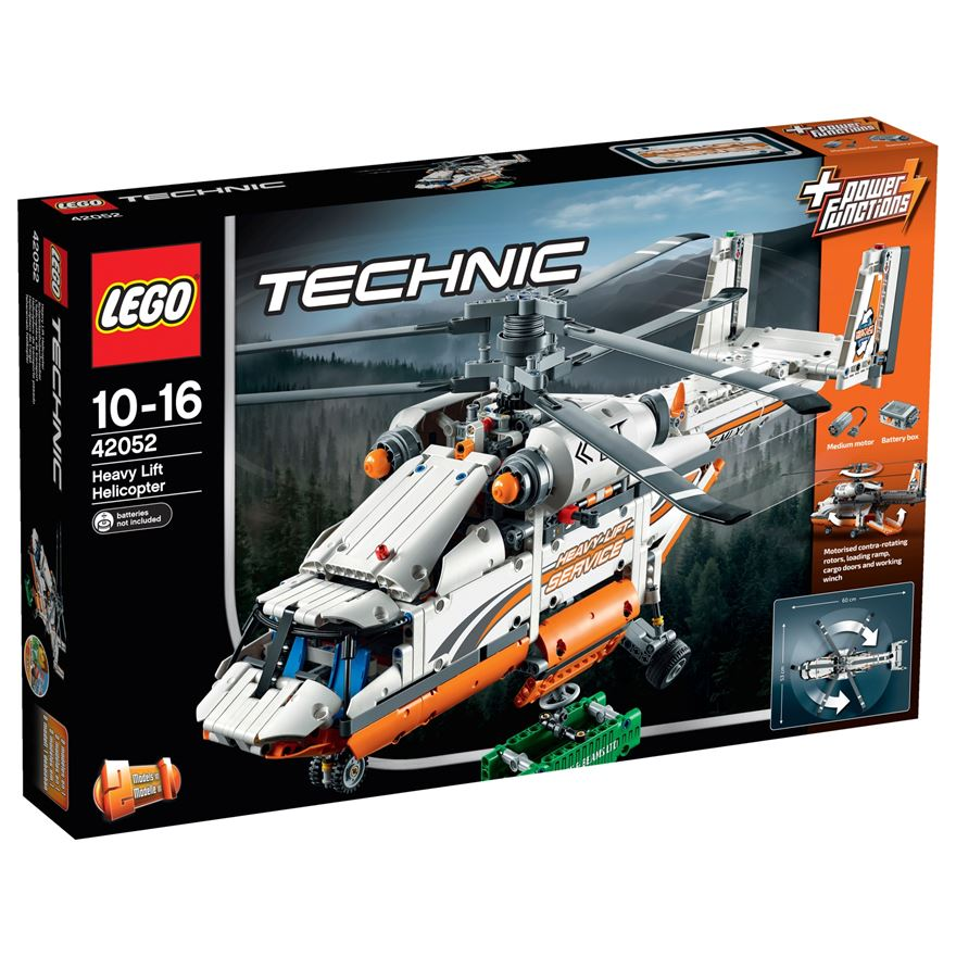 LEGO Technic Heavy Lift Helicopter 42052 image-0