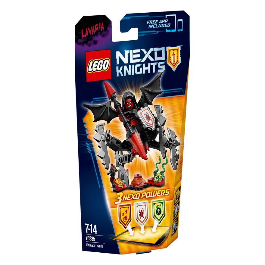 LEGO Nexo Knights Ultimate Lavaria 70335 image-0