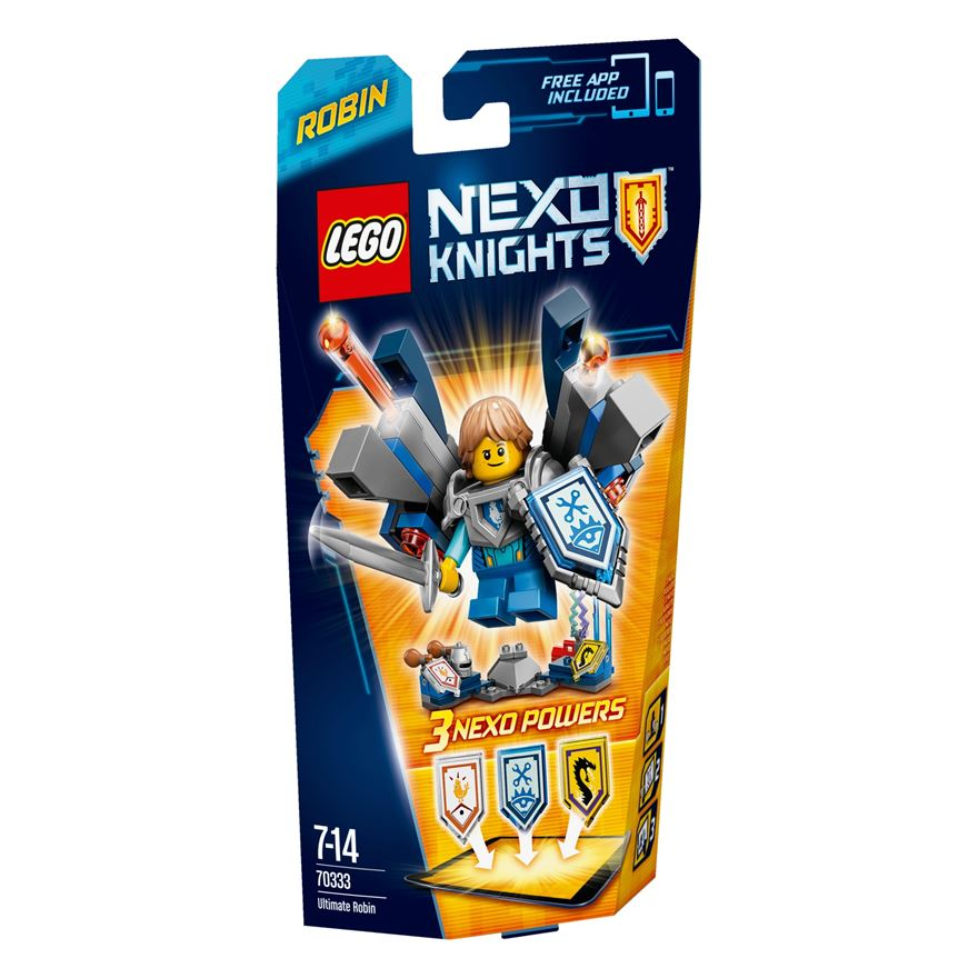 LEGO Nexo Knights Ultimate Robin 70333 image-0