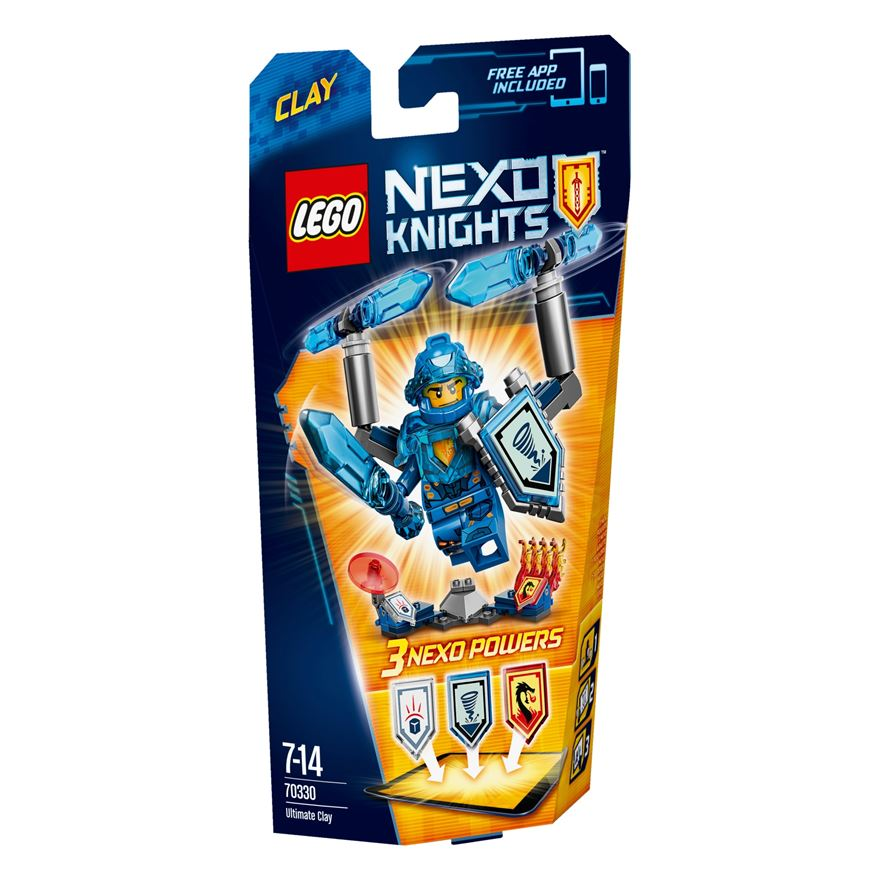 LEGO Nexo Knights Ultimate Clay 70330 image-0
