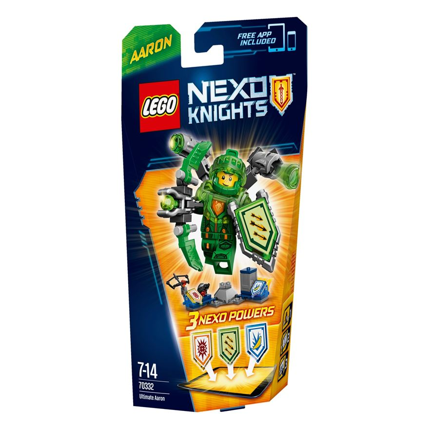 LEGO Nexo Knights Ultimate Aaron 70332 image-0