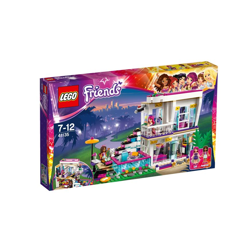 LEGO Friends Livi's Pop Star House 41135 image-0