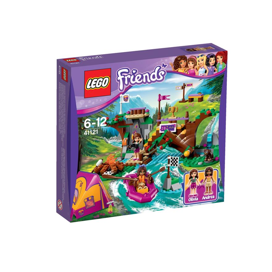 LEGO Friends Adventure Camp Rafting 41121 image-0