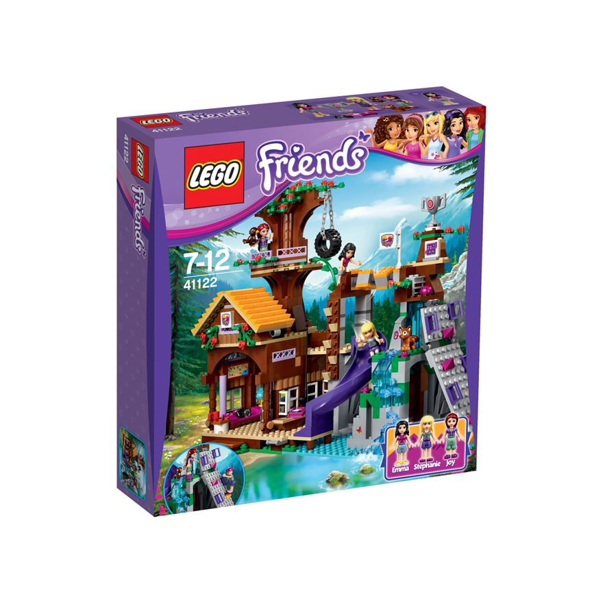 LEGO Friends Adventure Camp Tree House 41122 image-0
