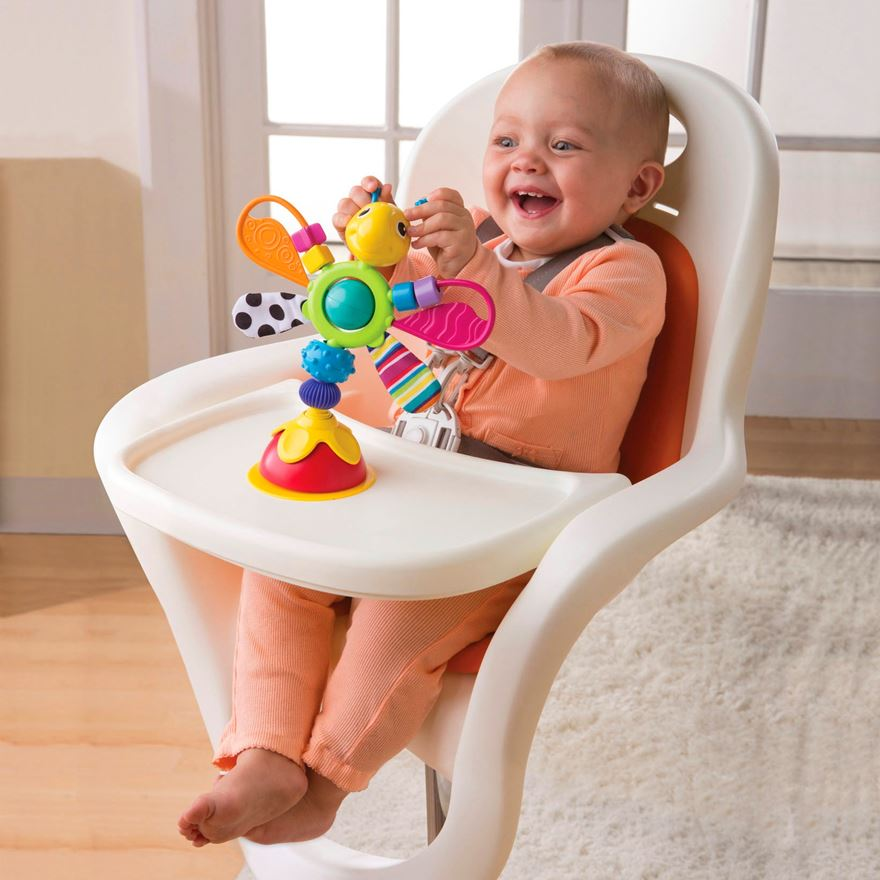Lamaze Freddie Firefly High Chair Toy image-0