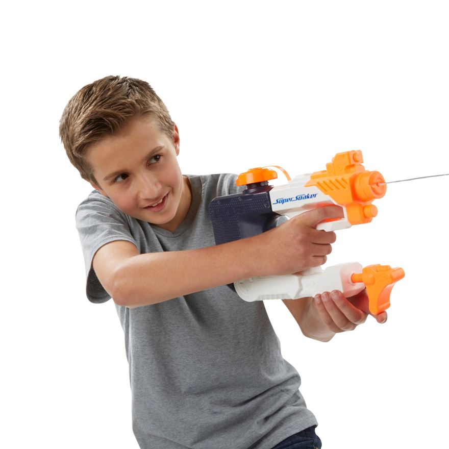 NERF Super Soaker Squall Surge Water Blaster image-0