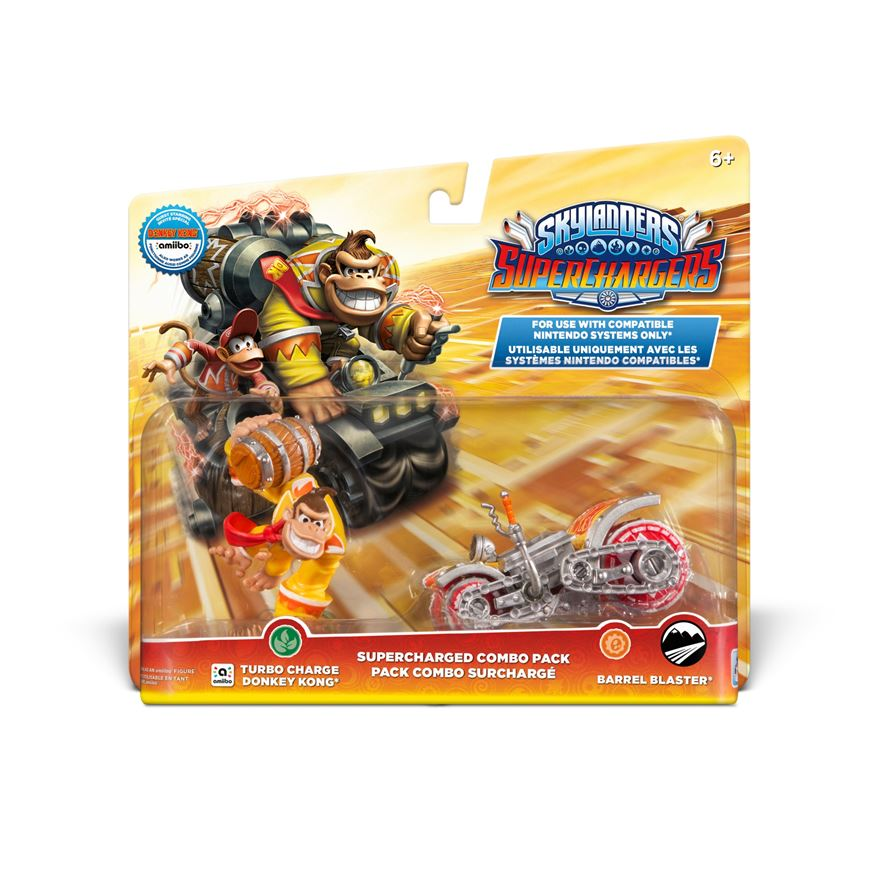 Skylanders SuperChargers SuperCharged Combo Pack: Donkey Kong image-0
