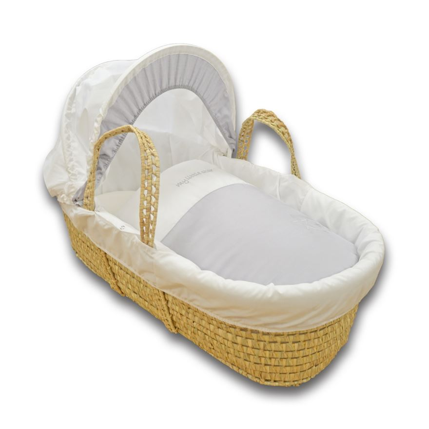 Cuddles Collection My Little Star Moses Basket image-0