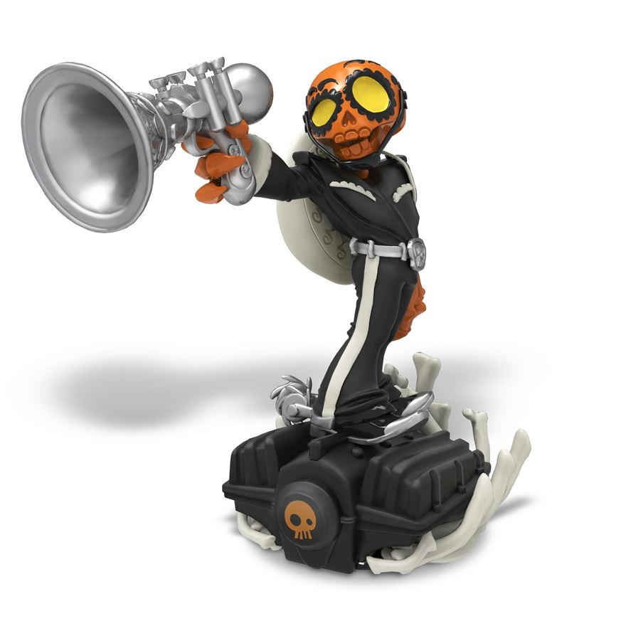 Limited Edition Frightful Fiesta: Skylanders SuperChargers Figure
