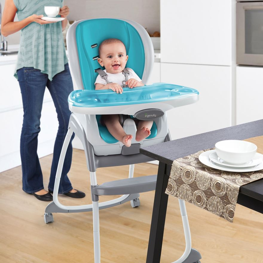 Ingenuity Smart Clean Trio 3-in-1 High Chair image-0