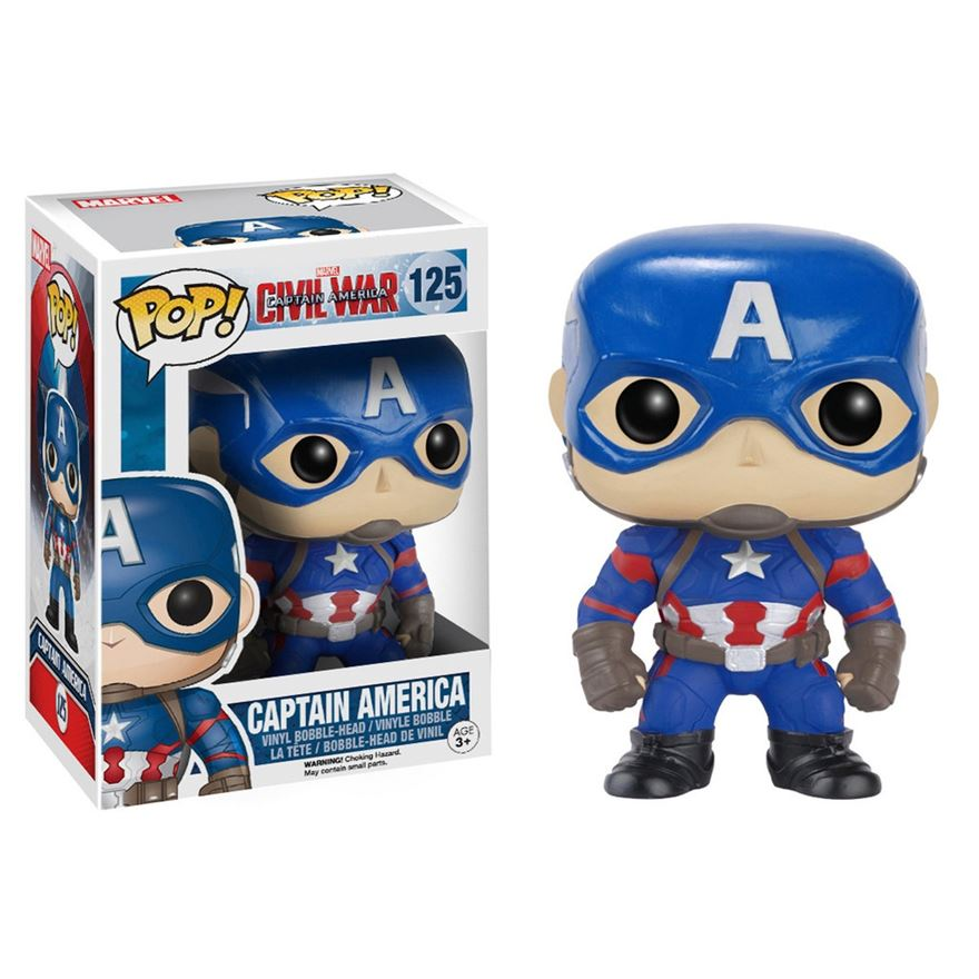 POP! Vinyl: Civil War Captain America