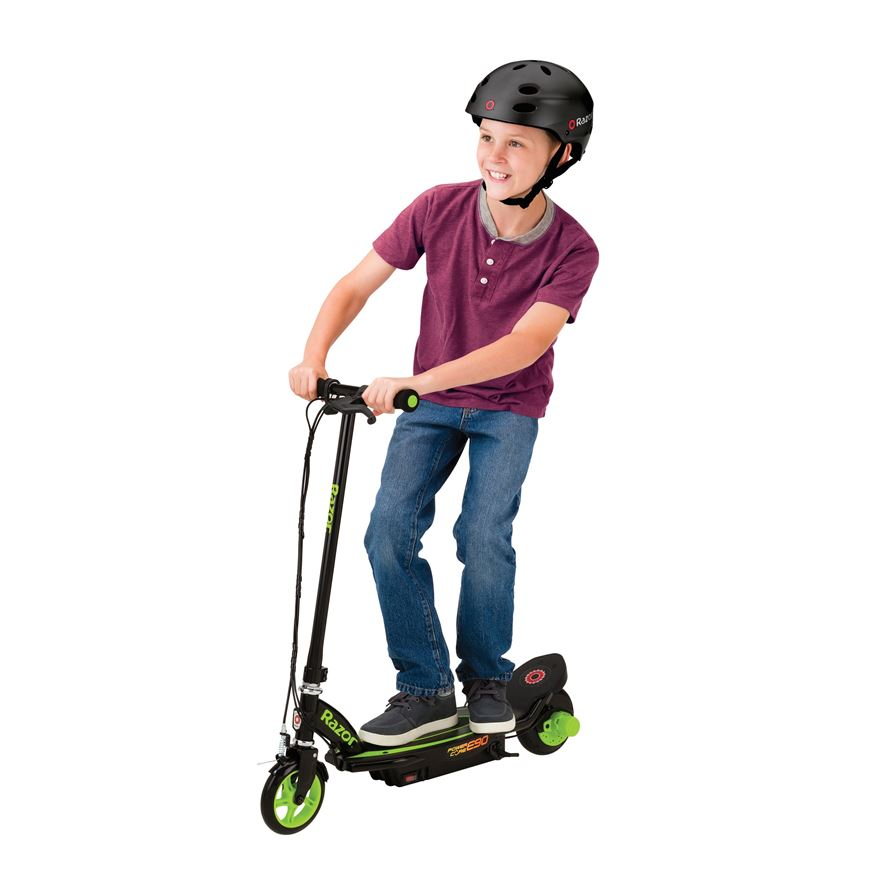 Razor Power Core E90 Electric Scooter - Green image-0