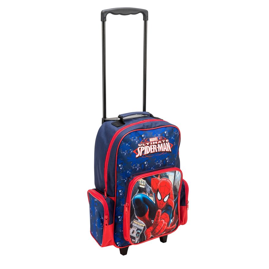 Spiderman Backpack and Trolley image-0