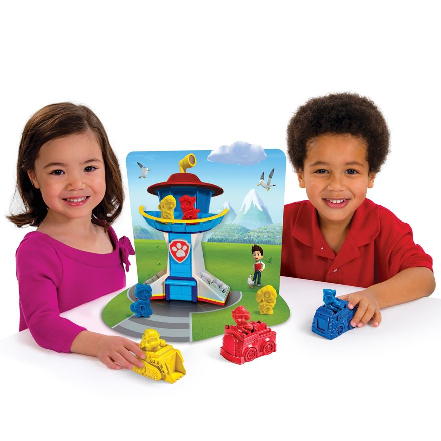 Paw Patrol to the Rescue Dough Play Set image-0