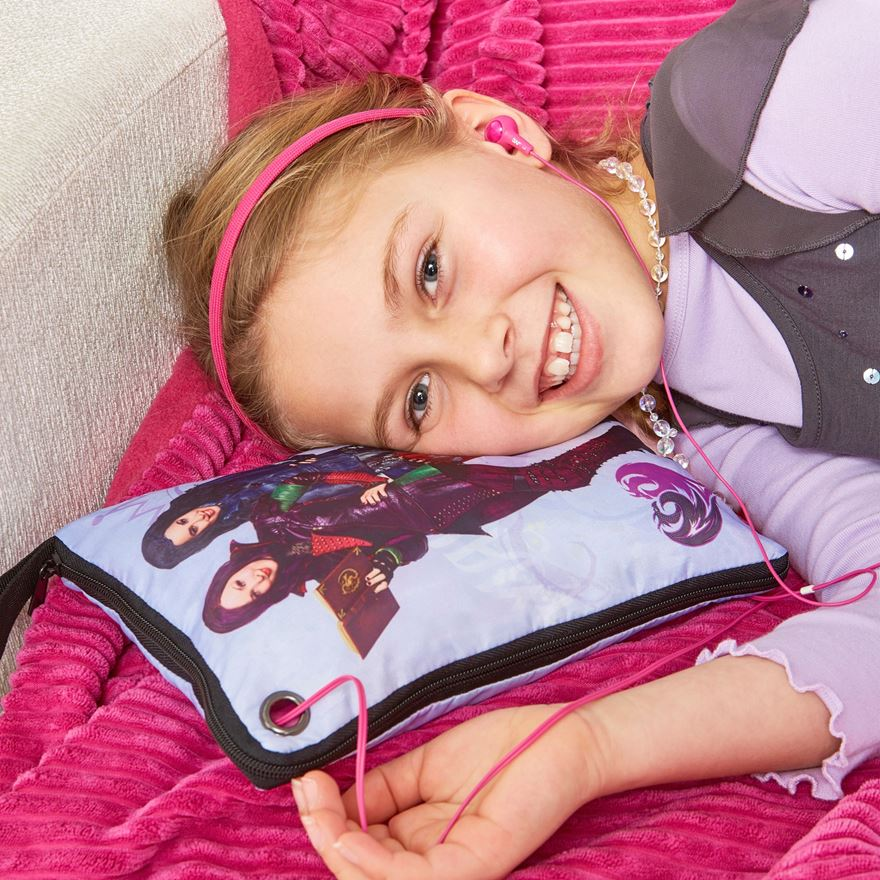 Disney Descendants Hide N Sleep Cushion image-0