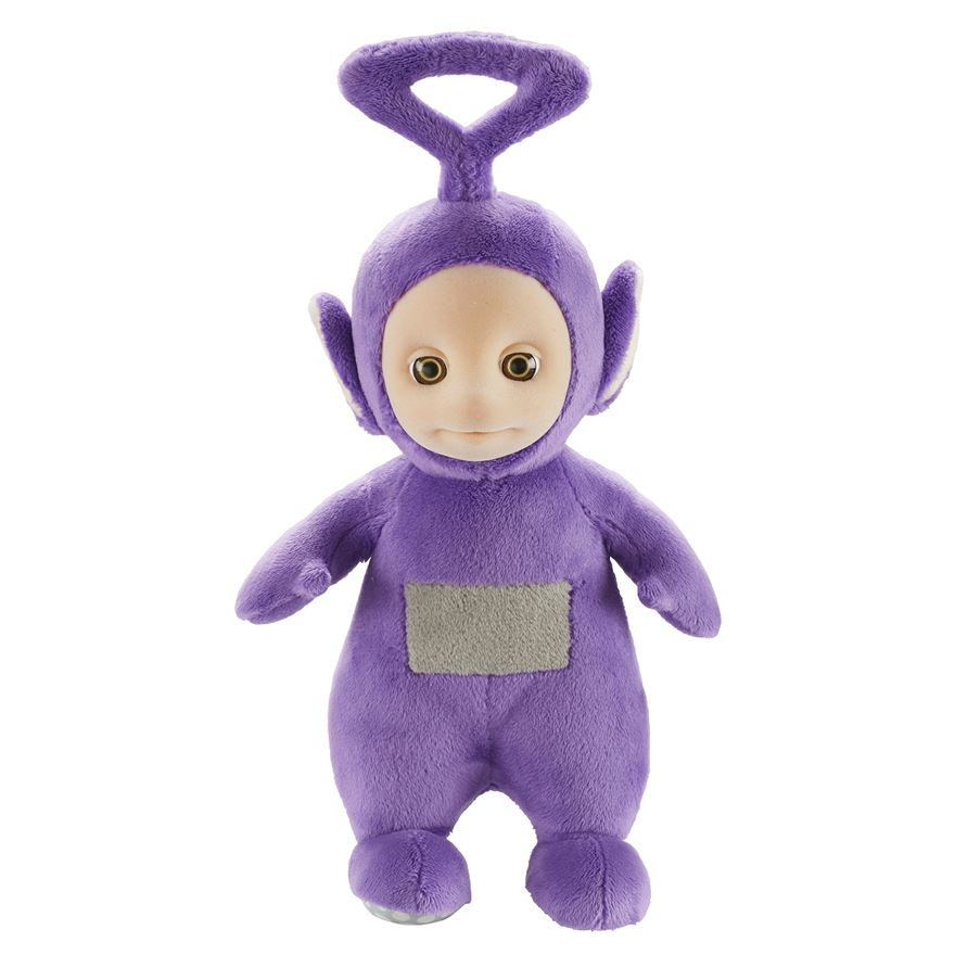 Teletubbies 8 Inch Talking Po Plush Tinky Winky image-0