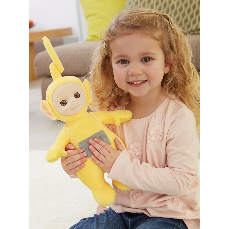 Teletubbies Laugh & Giggle Soft Laa-Laa Plush image-0