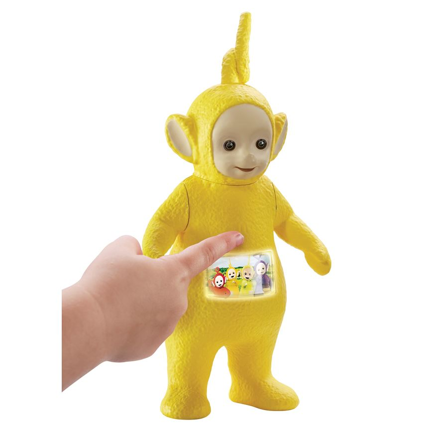 Teletubbies Tickle & Glow Laa-Laa Figure image-0