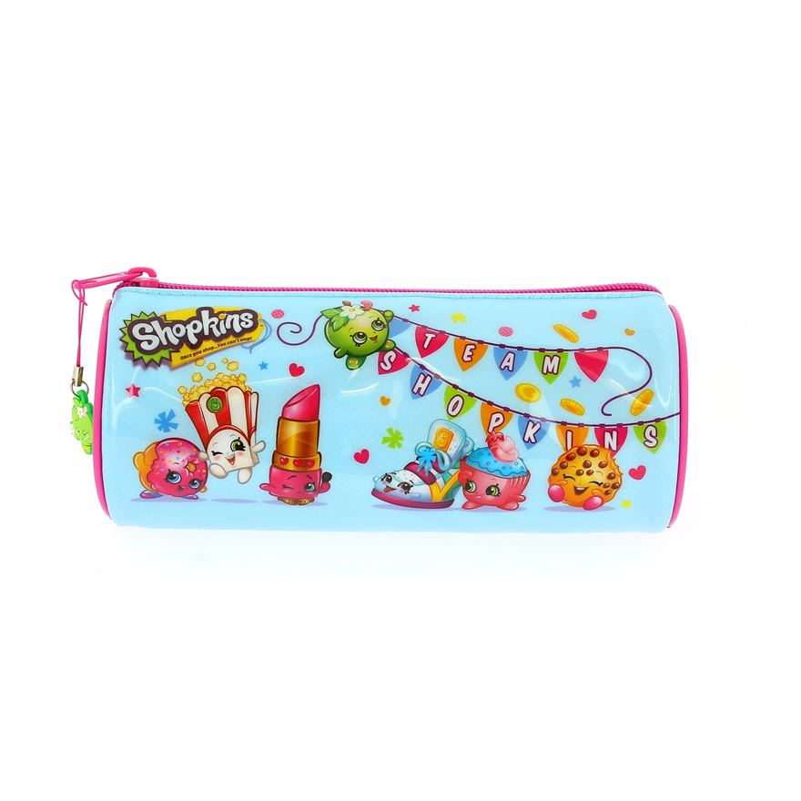 Shopkins Barrel Pencil Case image-0