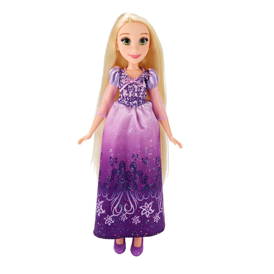 Disney Princess Royal Shimmer Rapunzel Doll image-0