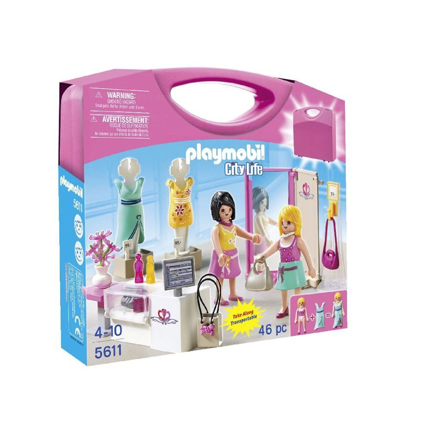 Playmobil City Life Shopping Carry Case 5611 image-0