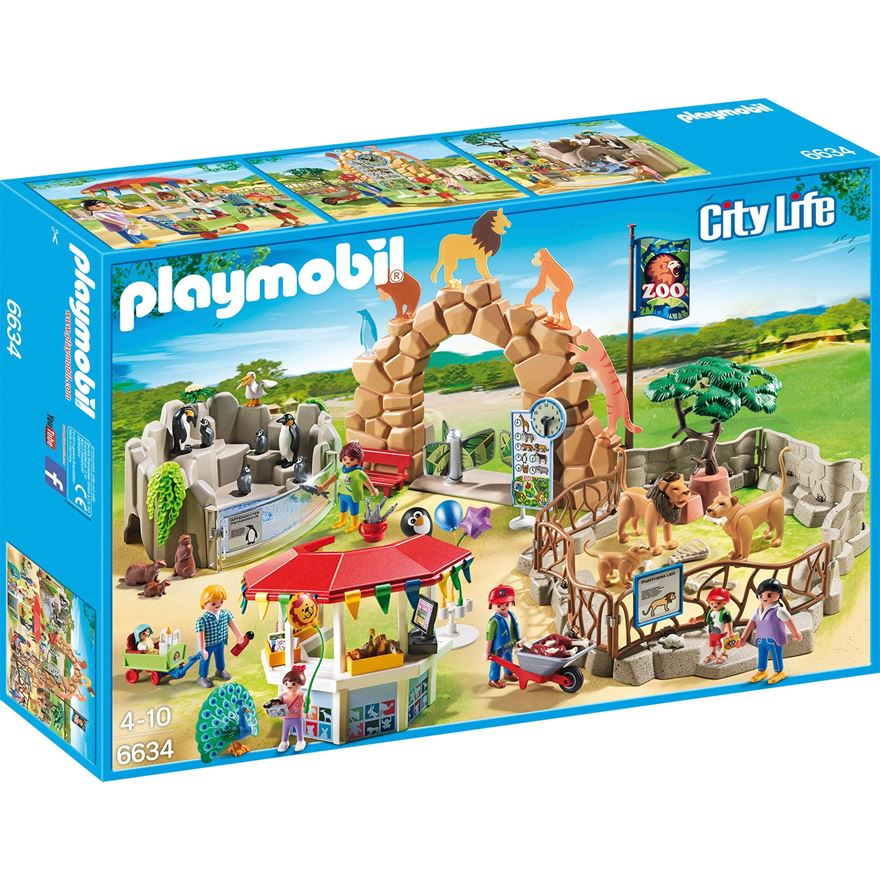 Playmobil City Life Large City Zoo 6634 image-0