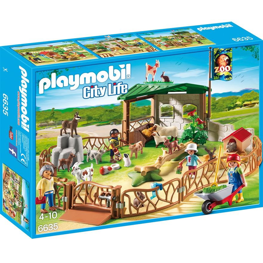 Playmobil City Life Children's Petting Zoo 6635 image-0
