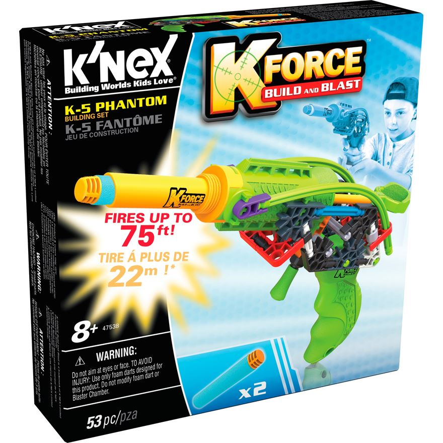 K'NEX K Force K-5 Phantom Blaster image-0