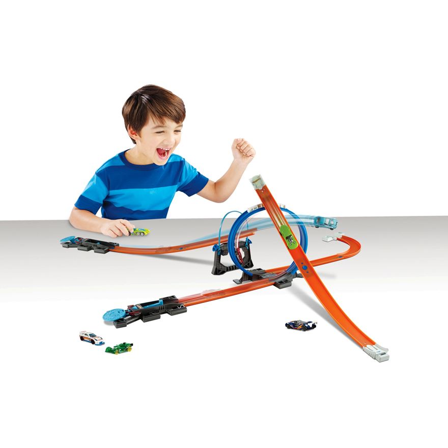 Hot Wheels Track Builder Starter Kit Play Set image-0