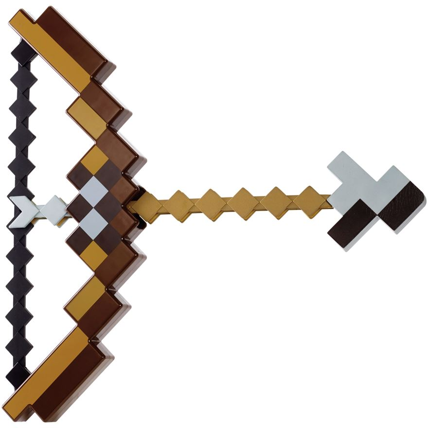 Minecraft Bow and Arrow image-0