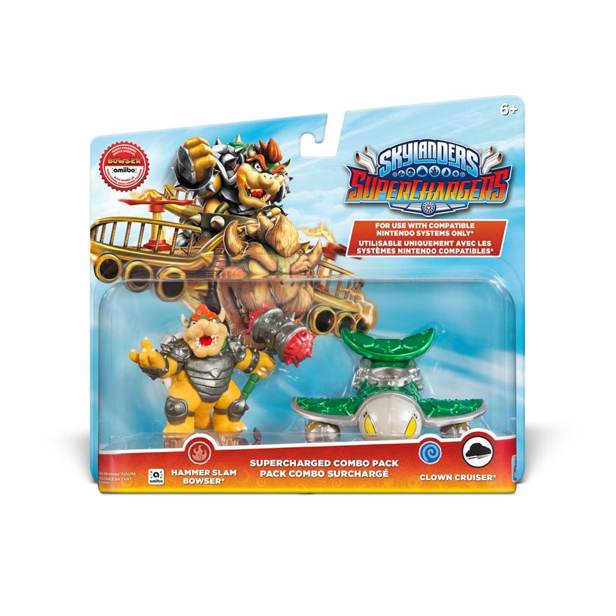 Skylanders SuperChargers SuperCharged Combo Pack: Bowser image-0