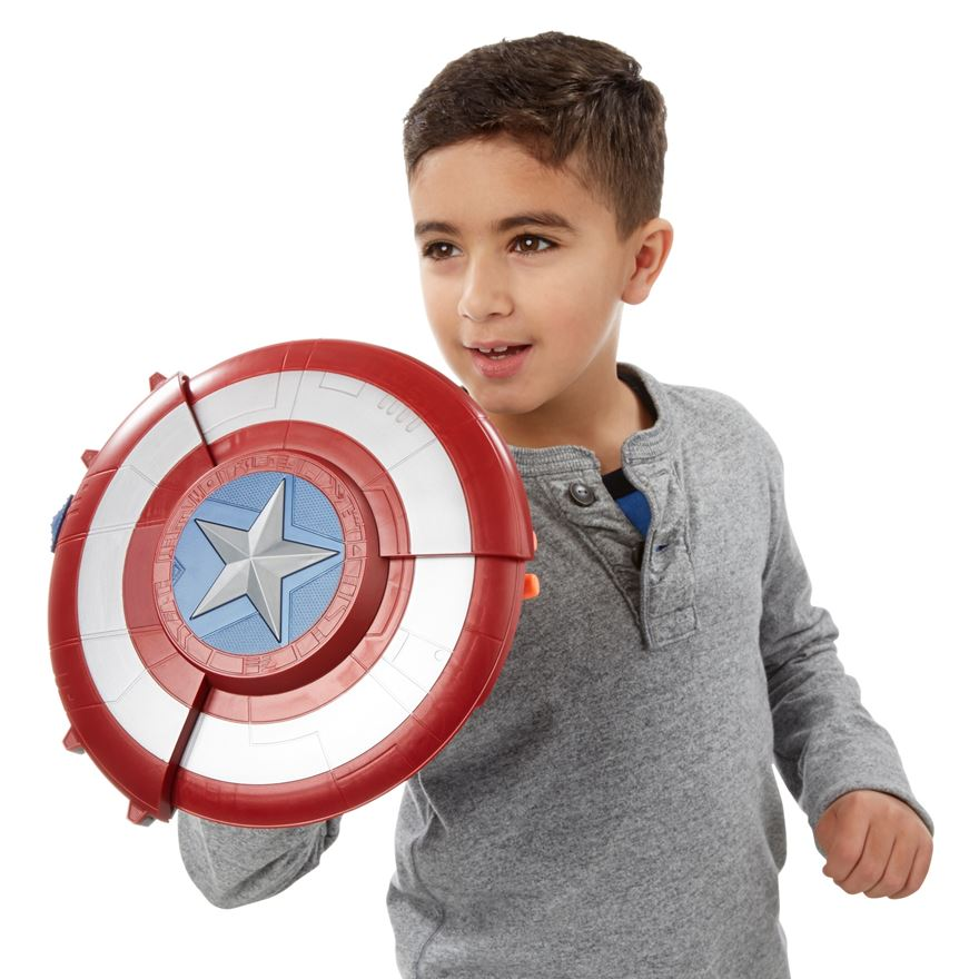 Marvel Captain America: Civil War Blaster Reveal Shield image-0