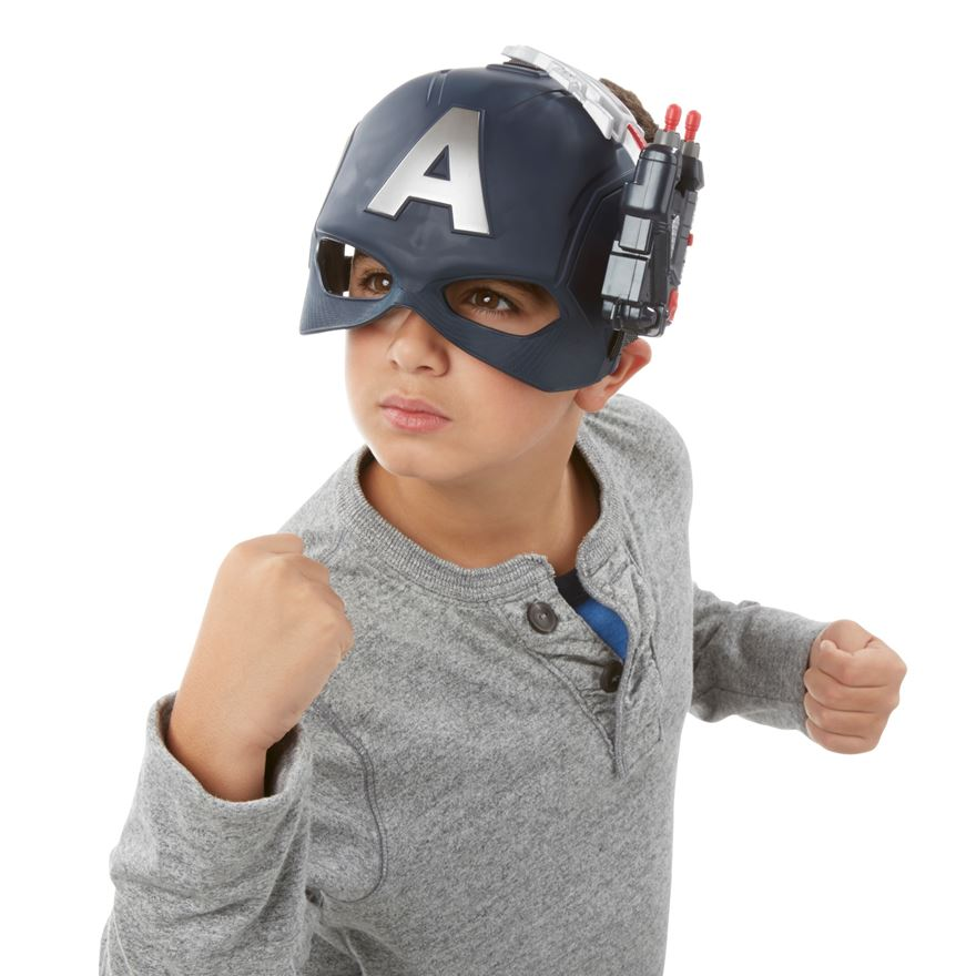 Marvel Captain America: Civil War America Scope Vision Helmet image-0