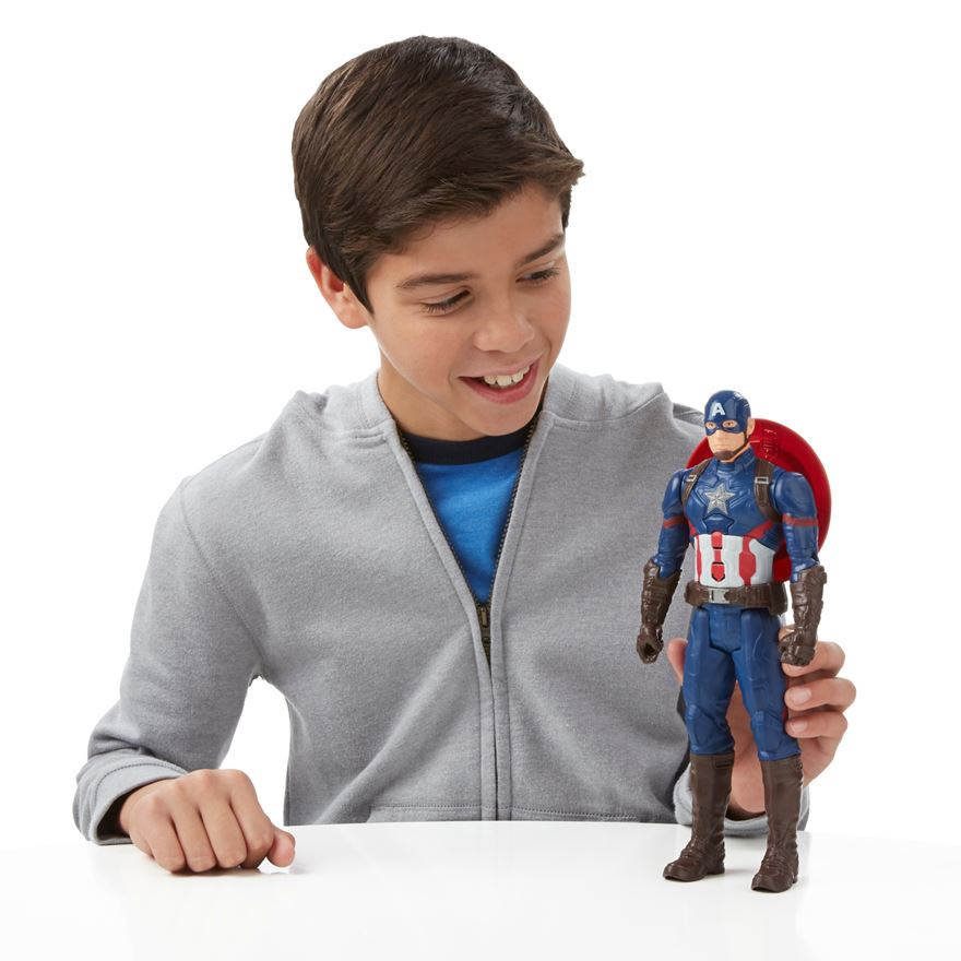 Marvel Captain America: Civil War Electronic Titan Hero Tech Figure image-0