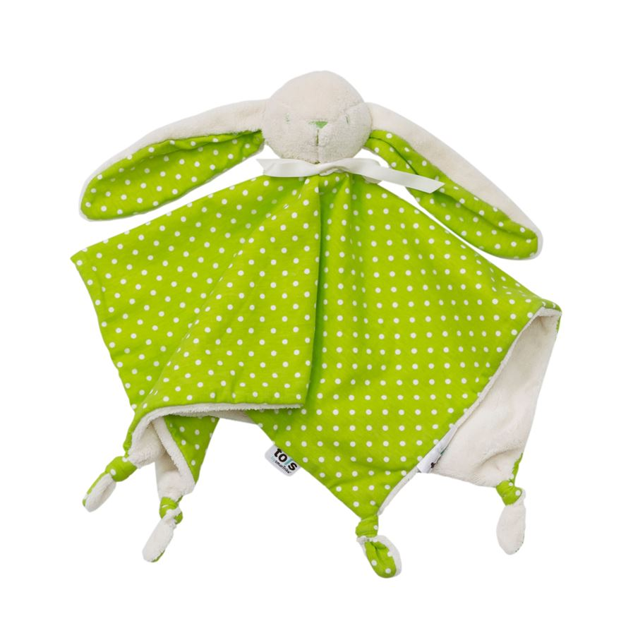 toTs by smarTrike Joy Bunny Comforter - Green image-0