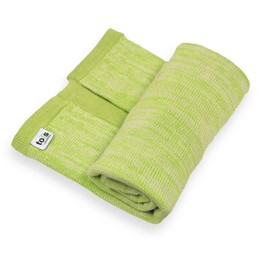 toTs by smarTrike Joy Knitted Blanket - Green image-0