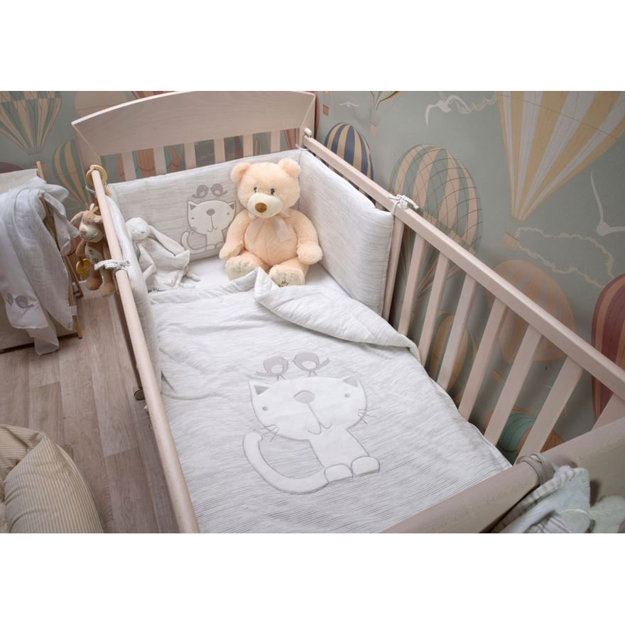 toTs by smarTrike Classic Jersey Grey Bedding Set image-0