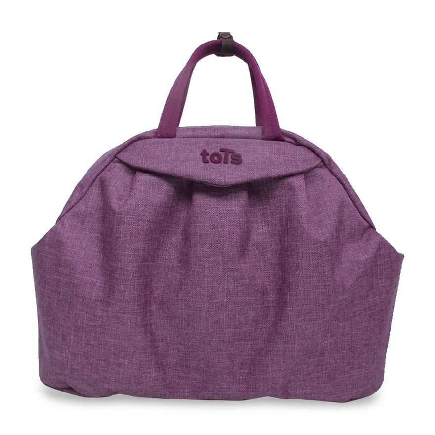 toTs by smarTrike Chic Purple Mélange Changing Bag image-0