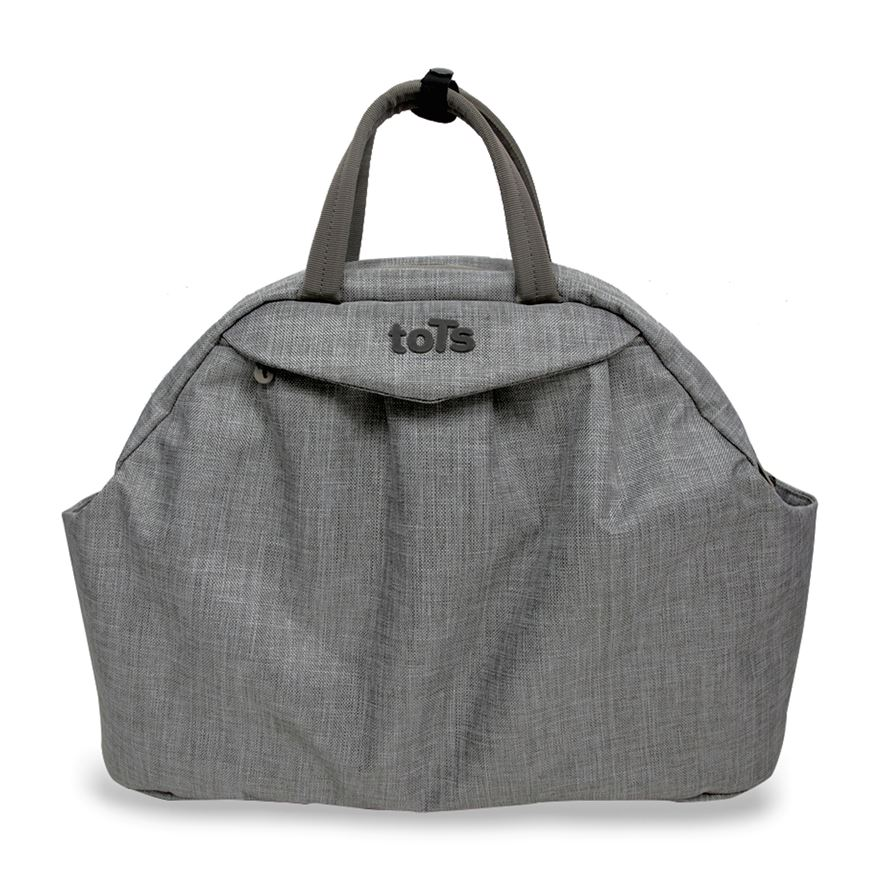 toTs by smarTrike Chic Grey Mélange Changing Bag image-0