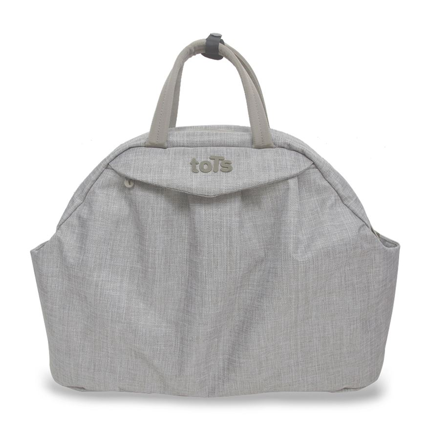 toTs by smarTrike Chic Beige Mélange Changing Bag image-0