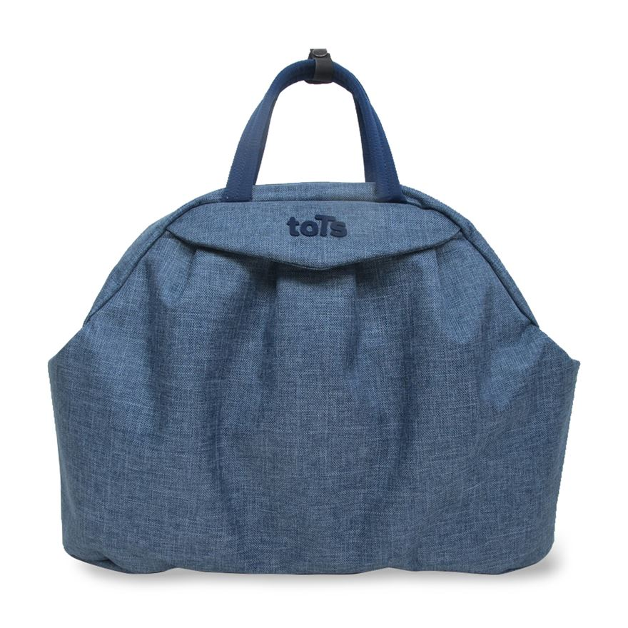 toTs by smarTrike Chic Blue Mélange Changing Bag image-0