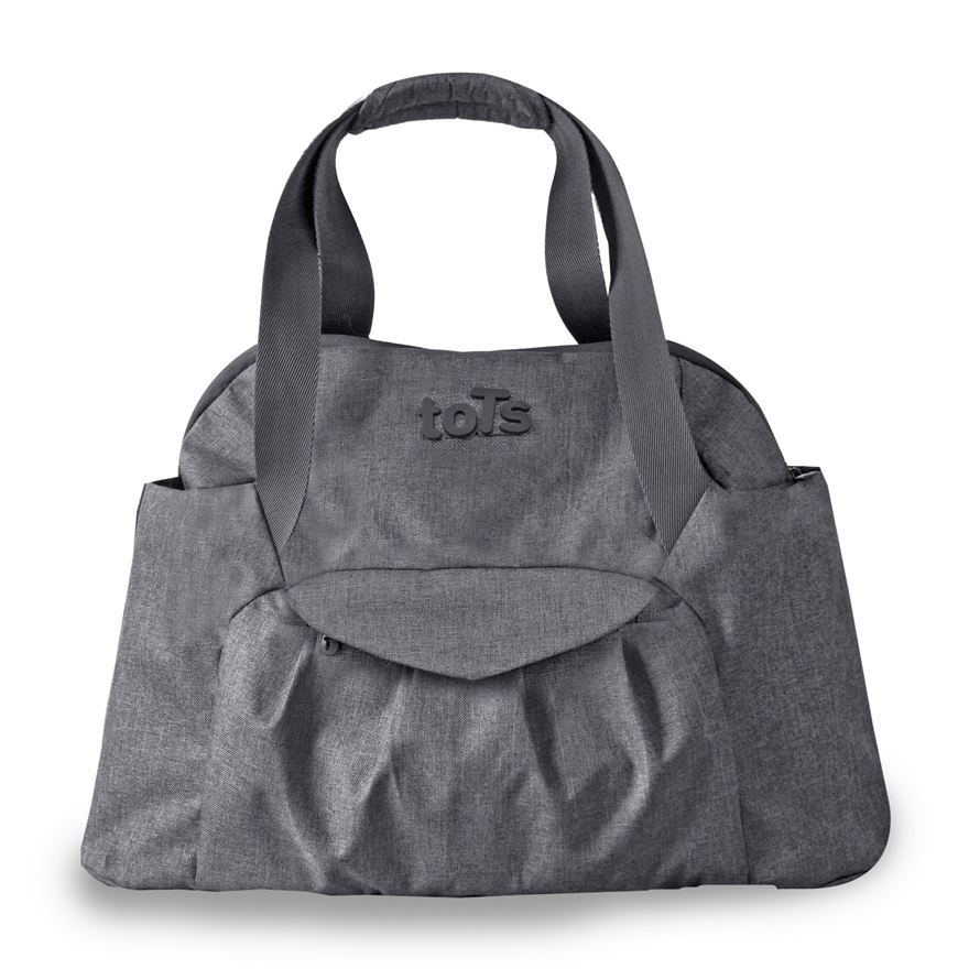 toTs by smarTrike Voyage Dark Grey Mélange Changing Bag image-0