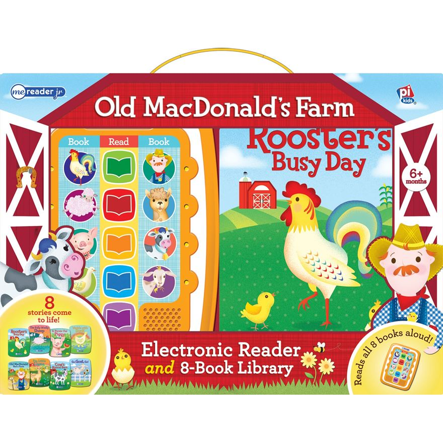 Me Reader Junior Old McDonald's Farm Electronic Reader and 8-Book Library