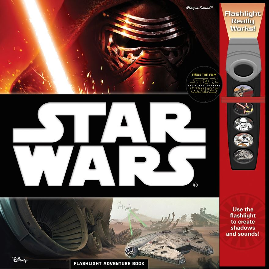 Star Wars The Force Awakens Flashlight Adventure Book