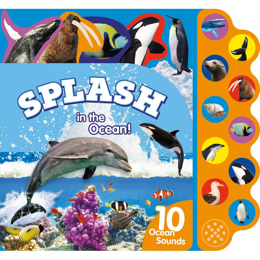 Splash in the Ocean Book